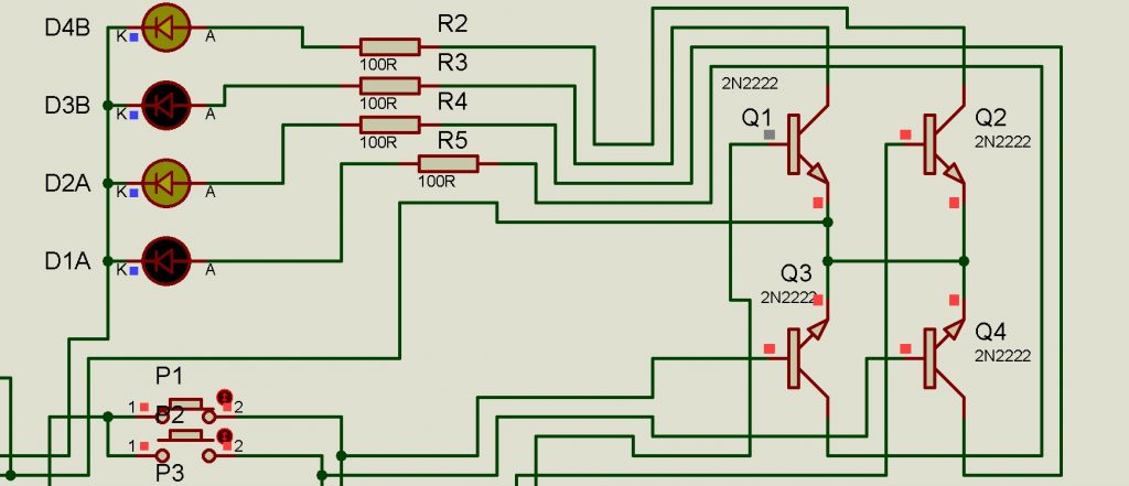circuito indicador de dirección