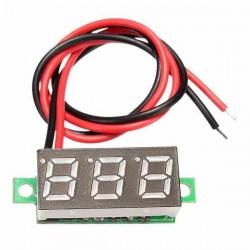 voltimetro de cero a treinta voltios