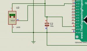 En conclusión, los elementos J1, 7805, C1 y C2 son los elementos encargados de regulación de voltaje