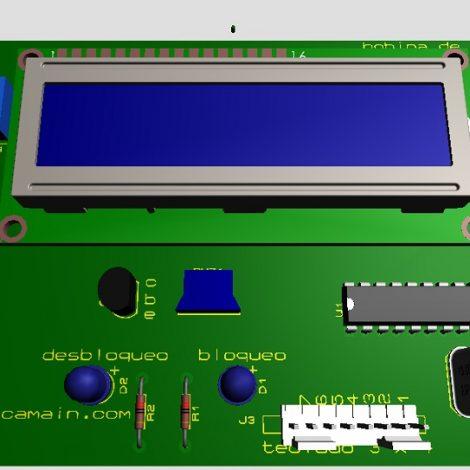 cerradura electrónica mediante Keypad