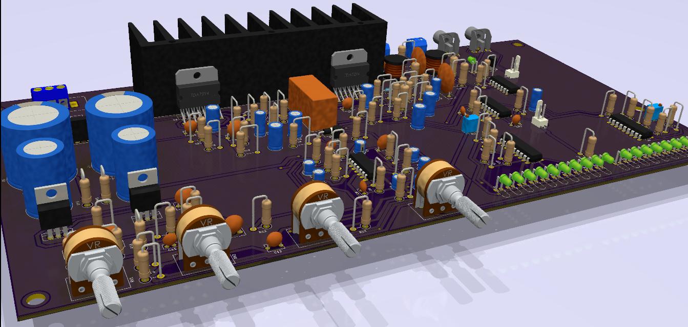 diseño circuitos electrónicos en kicad