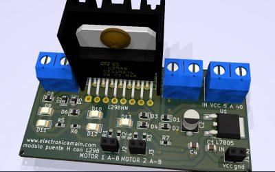 Modulo Puente H con integrado L298